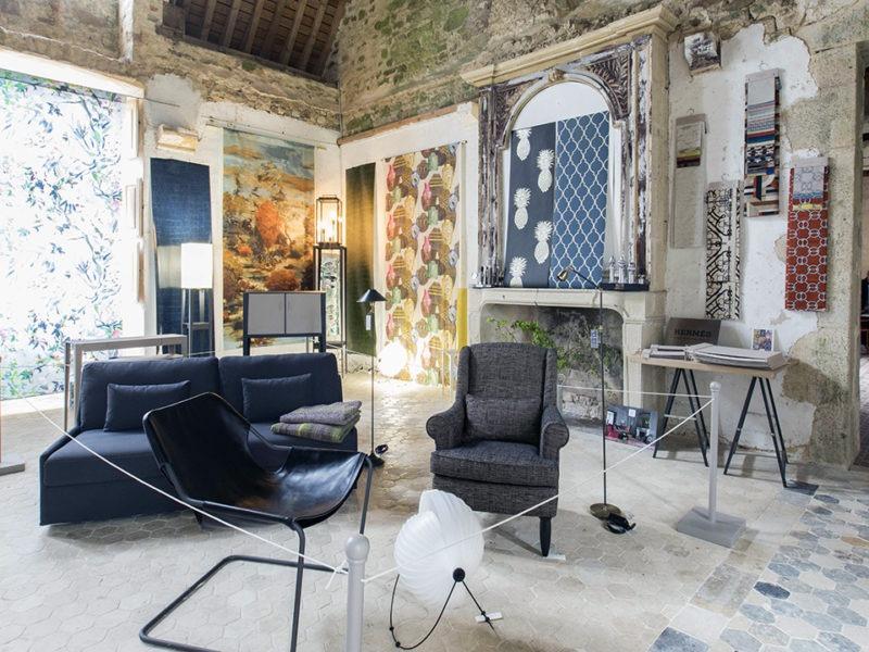 La Maison Poutas au château de Crosville sur Douve au printemps 2017
