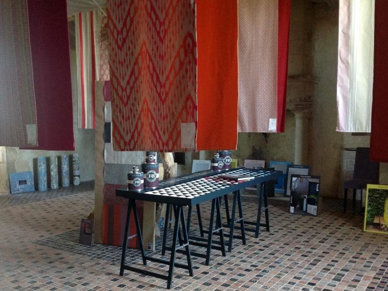 Exposition Maison Poutas Tapissier-Décorateur au Château de Crosville sur Douve